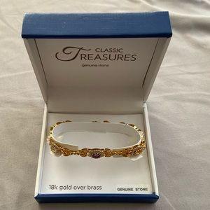 Classic Treasures genuine stone bracelet NEW
